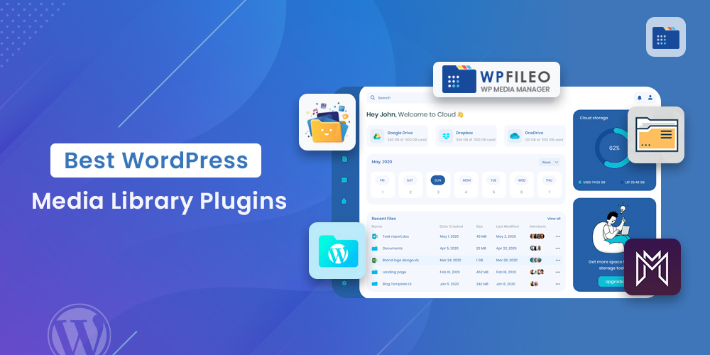 WordPress Media Library Plugin